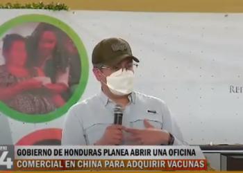 Gobierno de Honduras planea abrir una oficina comercial en China para adquirir vacunas