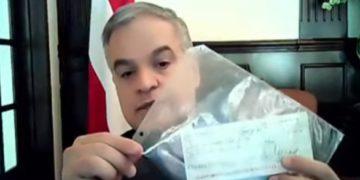 Yani Rosenthal denuncia que recibió de Luis Zelaya «cheque canguro»