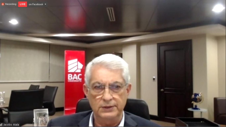 Jacobo Atala, Presidente Ejecutivo de BAC Credomatic Honduras