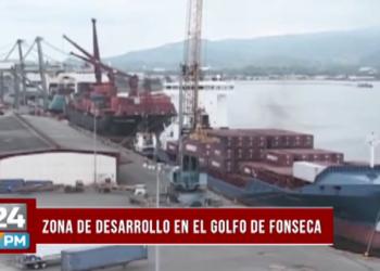 Zona de desarrollo en el Golfo de Fonseca