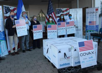 EEUU entrega a Honduras 81,370 vacunas contra el Covid- 19