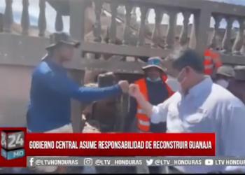 Gobierno central asume responsabilidad de reconstruir Guanaja